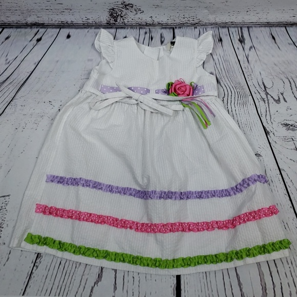 Rare Too Other - Girl's Spring/Easter Dress